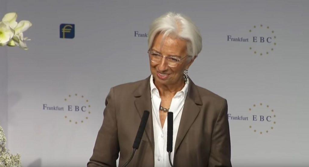 Christine Lagarde presidenta del Banco Central Europeo (BCE)