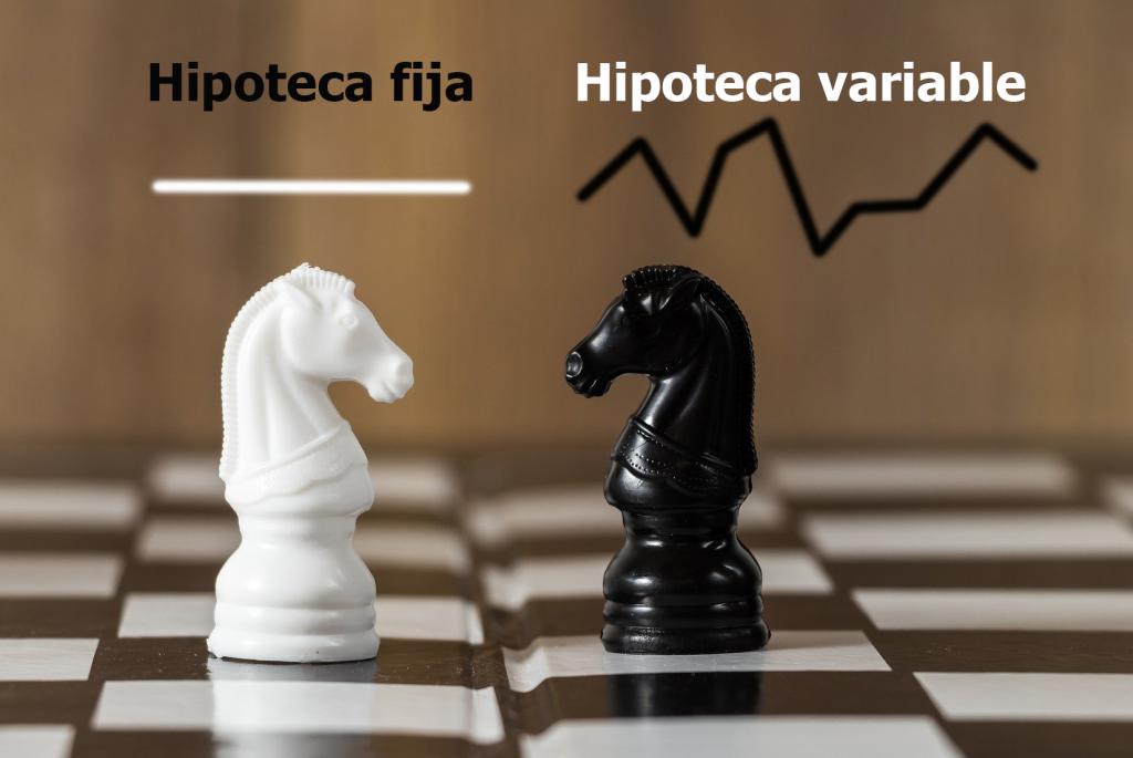 Elegir entre hipoteca fija o hipoteca variable es díficil. Toda una auténtica estrategia.